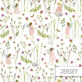 Elfengarten rosa/ Kleeelfe Jersey