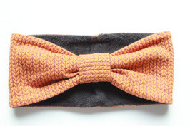 Stirnband LISA Glitzer Knit Knit orange