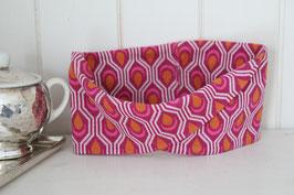 Stirnband DORO orange/pink