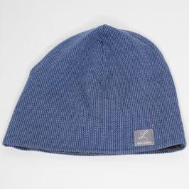 "Beanie ""Knit Knit"" blau"