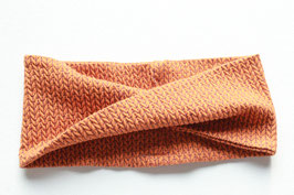 Stirnband Doro Glitzer Knit Knit orange
