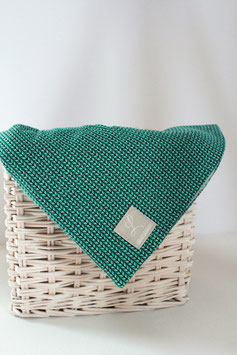 """Beanie """"Knit Knit"""" türkis"""
