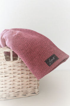 "Beanie ""Rose Knit,Knit"" Größe L"