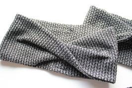 Stirnband DORO Glitzer Knit Knit schwarz
