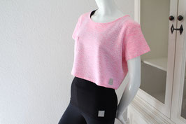"Crob  Top ""white and pink"""