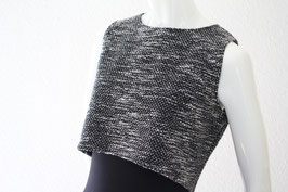 "Crob  Top ""grey and black"""