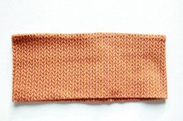 Stirnband Gila Glitzer Knit Knit orange