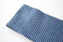 Stirnband Gila Glitzer Knit Knit blau/silber