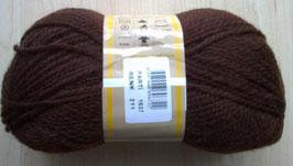 100 g reine Schurwolle freie Farbwahl -hochwertiges Qualitätsgarn-braun6