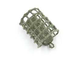 Futterkorb 45g Olivgrün Sandbeschichtet