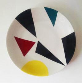 ASSIETTE formes géométriques 2
