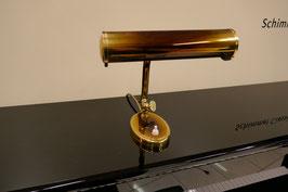 Klavierleuchte Messing