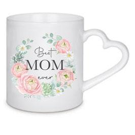 Tasse Floral Best Mom