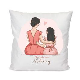 Kissen Mama & Tochter #10