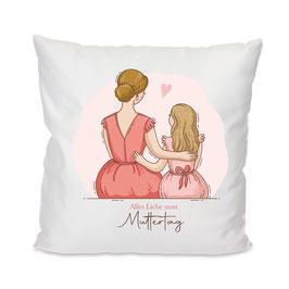 Kissen Mama & Tochter #9