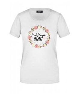 T-Shirt Lieblings Mama Floral