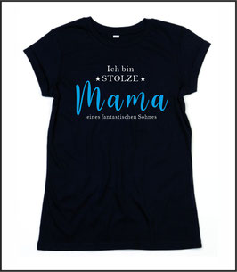 T-Shirt Partner Mama Sohn