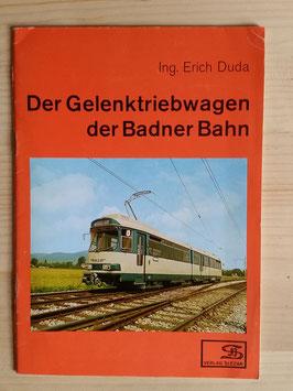 Der Gelenktriebwagen der Badner Bahn