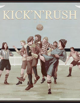 Kick'n'Rush - Die Schallplatte (mit dem Splätterlitheater Hörspiel)