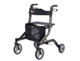 Bischoff Rollator Capero faltbarer Leichtgewichtrollator nur 5,8 kg + Rückengurt
