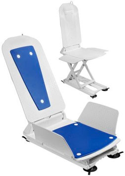 Badewannenlifter KANJO Eco mit Bezugsset blau oder weiss von Dietz GmbH