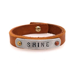 Art. N° 4146 -07-28 Message-Armband SHINE
