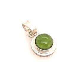 Kettenanhänger Silber Peridot grün | Gr. S Art. 0189
