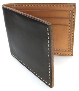Brieftasche für Karten & Scheine  olivgrün (außen) | natur (innen) Art. 9649
