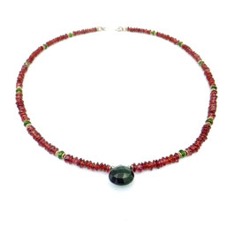 Collier Granat | Turmalin (7671)