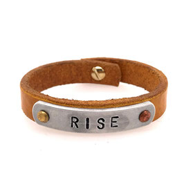 Art. N° 4146 -06-57 Message-Armband RISE