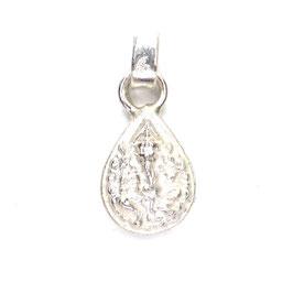 Ganesha Amulett Silber Tropfenform Art. 8991