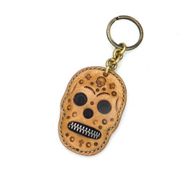 Schlüsselanhänger | Taschenanhänger mexikanischer Totenkopf Art. 0290