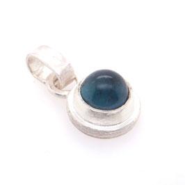 Kettenanhänger Silber Turmalin blau | Gr. S Art. 0186