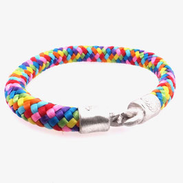 Armband Kletterseil | Tampen alle Farben mit Silberverschluss Art. 8971