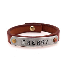 Art. N° 4146 -06-23 Message-Armband ENERGY