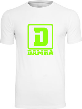 COLORS T-SHIRT (WHITE/GREEN)