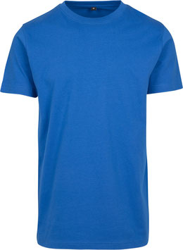 T-SHIRT ROUND NECK COBALT BLUE