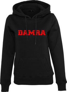 DAMRA HOODY L (BLACK/ RED)