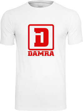 COLORS T-SHIRT (WHITE/RED)