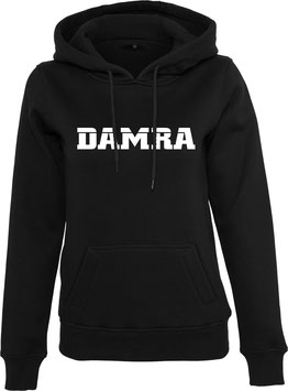 DAMRA HOODY L (BLACK/ WHITE)