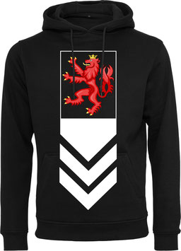 RED LION HOODY WHITE