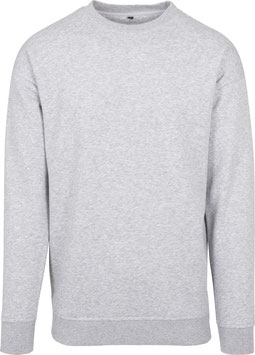 SWEAT CREWNECK HEATHER GREY