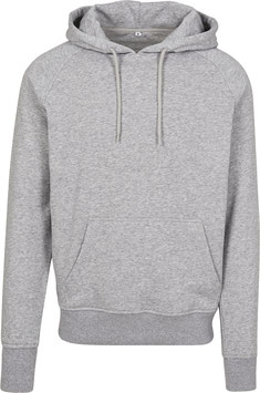 RAGLAN SWEAT HOODY HEATHER GREY