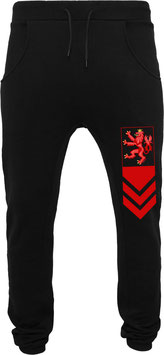 RED LION PANT BLACK