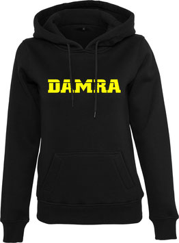 DAMRA HOODY L (BLACK/ YELLOW)
