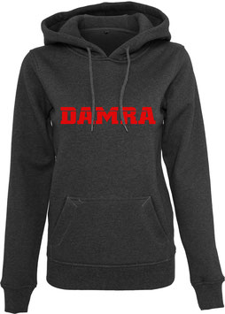 DAMRA HOODY L (GREY/RED)