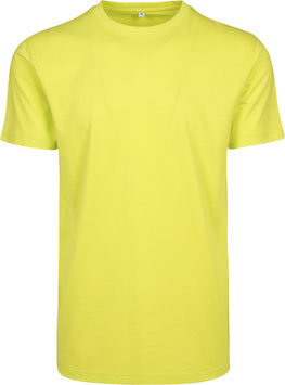 T-SHIRT ROUND NECK FROZEN YELLOW