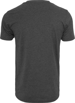 T-SHIRT ROUND NECK CHARCOAL