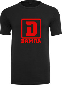 COLORS T-SHIRT (BLACK/RED)