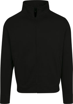 SWEAT ZIP BLACK
